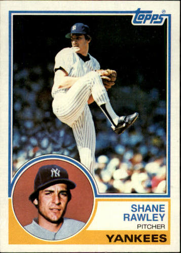 Photo of 1983 Topps #592 Shane Rawley