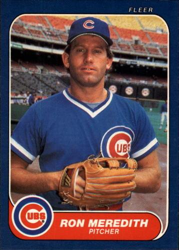 Photo of 1986 Fleer #374 Ron Meridith