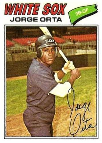 Photo of 1977 Topps #109 Jorge Orta