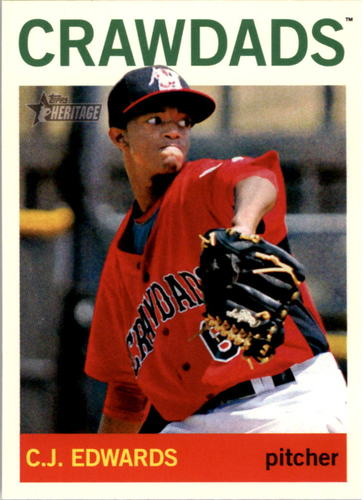 Photo of 2013 Topps Heritage Minors #136 Carl Edwards Jr.