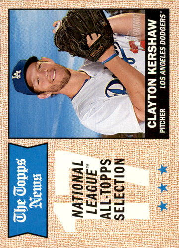 Photo of 2017 Topps Heritage #374 Clayton Kershaw