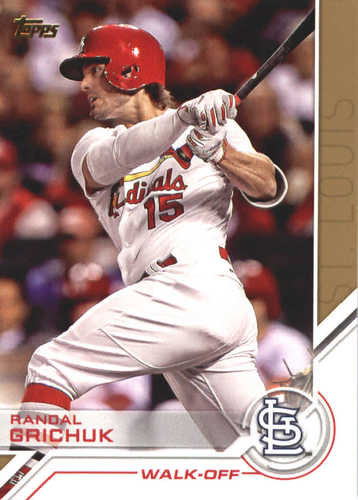 Photo of 2017 Topps Update Salute #USS44 Randal Grichuk