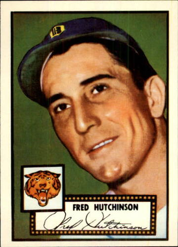 Photo of 1983 Topps 1952 Reprint #126 Fred Hutchinson
