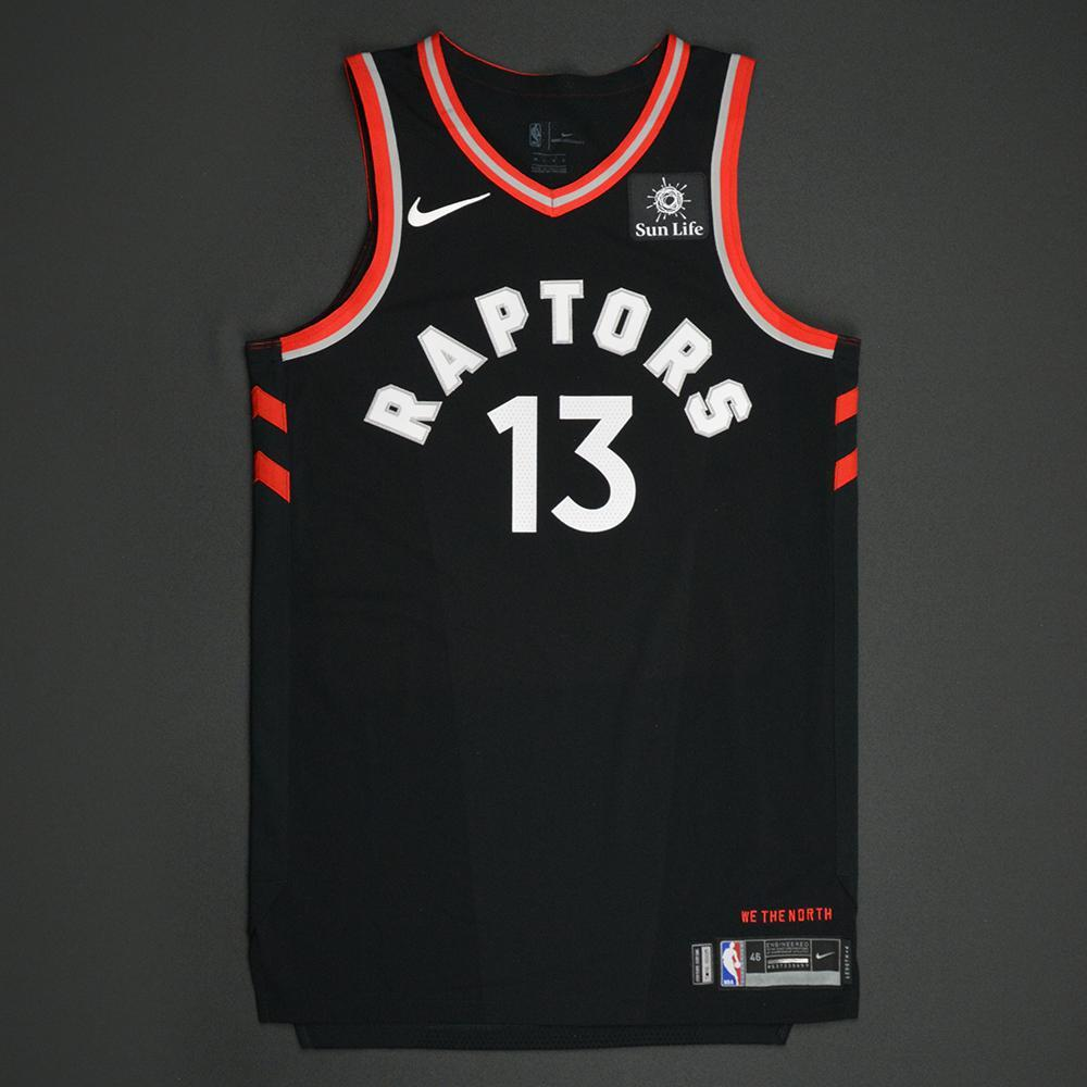 Malcolm Miller - Toronto Raptors - Statement Game-Issued Jersey  - 2017-18 Season