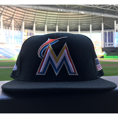 Photo of Game-Used Hat: Adam Conley (Size - 7 1/4)