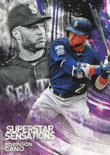 Photo of 2018 Topps Superstar Sensations #SSS37 Robinson Cano