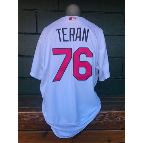 Cardinals Authentics: Kleininger Tern Game Worn White Mother's Day Jersey
