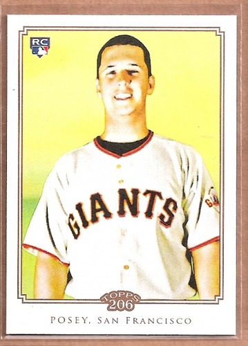 Photo of 2010 Topps 206 #193 Buster Posey  Rookie Card
