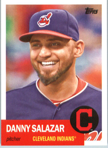 Photo of 2016 Topps Archives #38 Danny Salazar