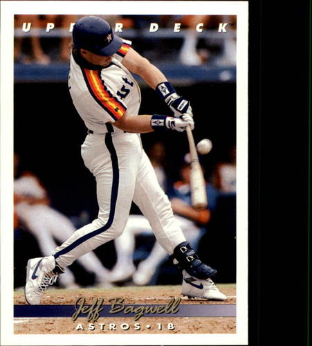 Photo of 1993 Upper Deck #256 Jeff Bagwell