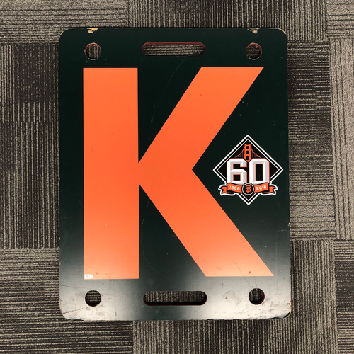 Photo of 2018 Orange K Board