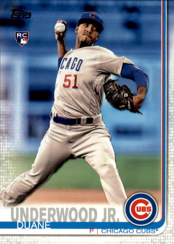 Photo of 2019 Topps #315 Duane Underwood Jr. RC