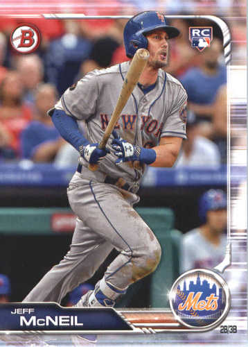 Photo of 2019 Bowman #90 Jeff McNeil RC