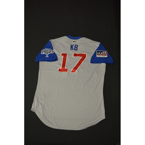 "Photo of 2019 Little League Classic - Game Used Jersey - Kris ""KB"" Bryant,  Chicago Cubs at Pittsburgh Pirates - 8/18/2019 (Size - 46)"