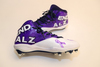 My Cause My Cleats -  Isaiah Wynn signed custom cleats - supporting  Alzheimer's Association