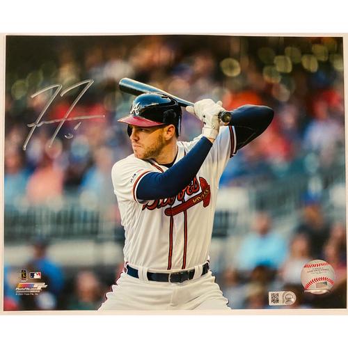 Photo of Freddie Freeman Autographed Photo Batting