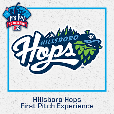 Hillsboro Hops First Pitch Experience