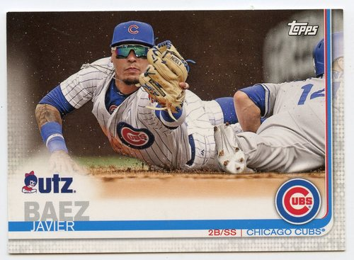 Photo of 2019 Topps Utz #13 Javier Baez