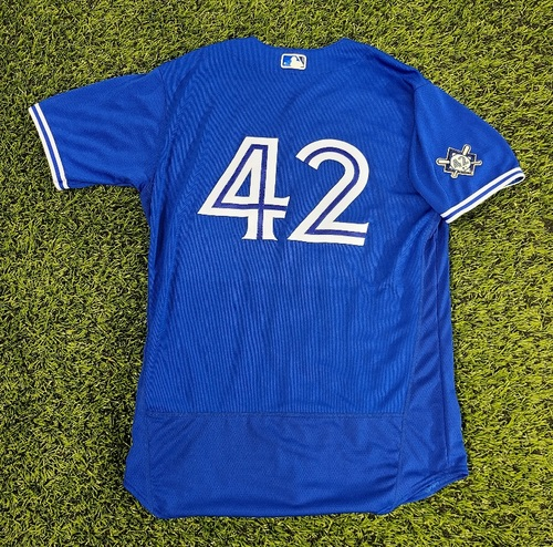Photo of CHARITY AUCTION: Authenticated Team Issued #42 Jersey: Brandon Drury (2020 Season). Size 46.