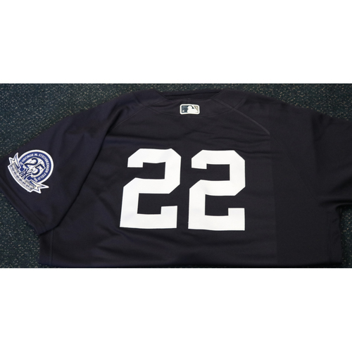 Photo of Team-Issued Spring Training Jersey - Chris Iannetta - #22 - Jersey Size - 48