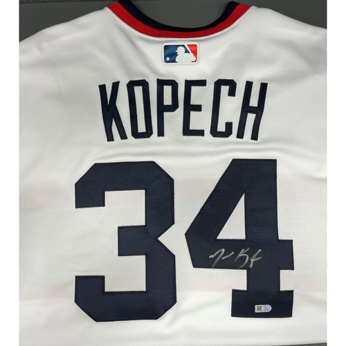 Photo of Michael Kopech Autographed Jersey - Size 46