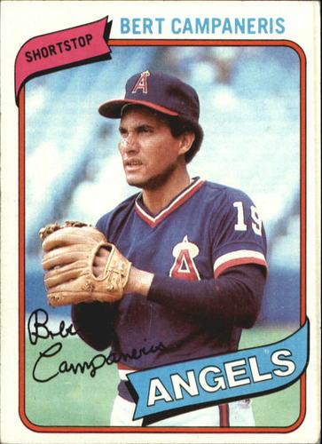 Photo of 1980 Topps #505 Bert Campaneris