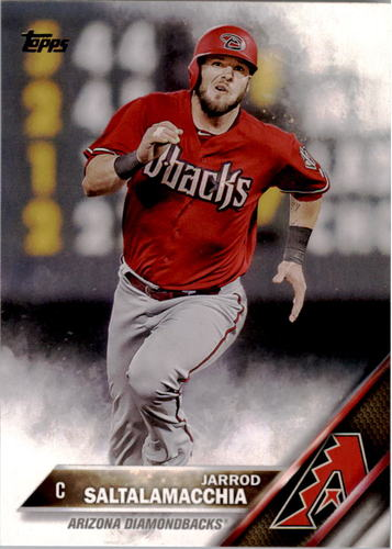 Photo of 2016 Topps #306 Jarrod Saltalamacchia