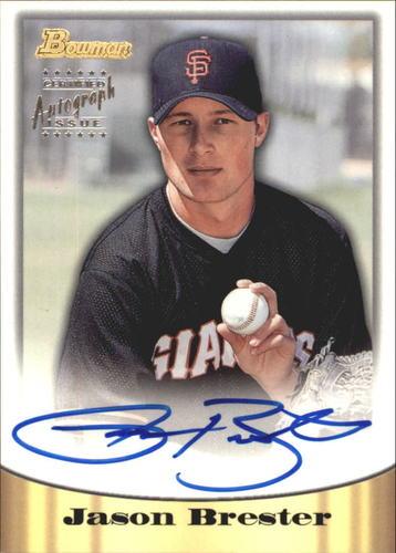 Photo of 1998 Bowman Certified Silver Autographs #40 Jason Brester