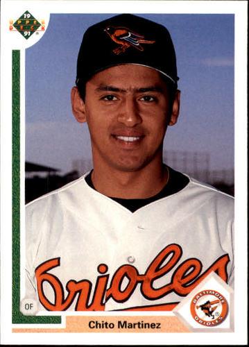 Photo of 1991 Upper Deck Final Edition #30F Chito Martinez RC