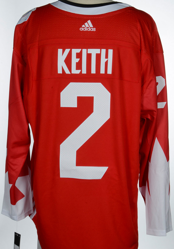 Duncan Keith Chicago Blackhawks Adidas Team Canada 2016 World Cup of Hockey Unsigned Jersey