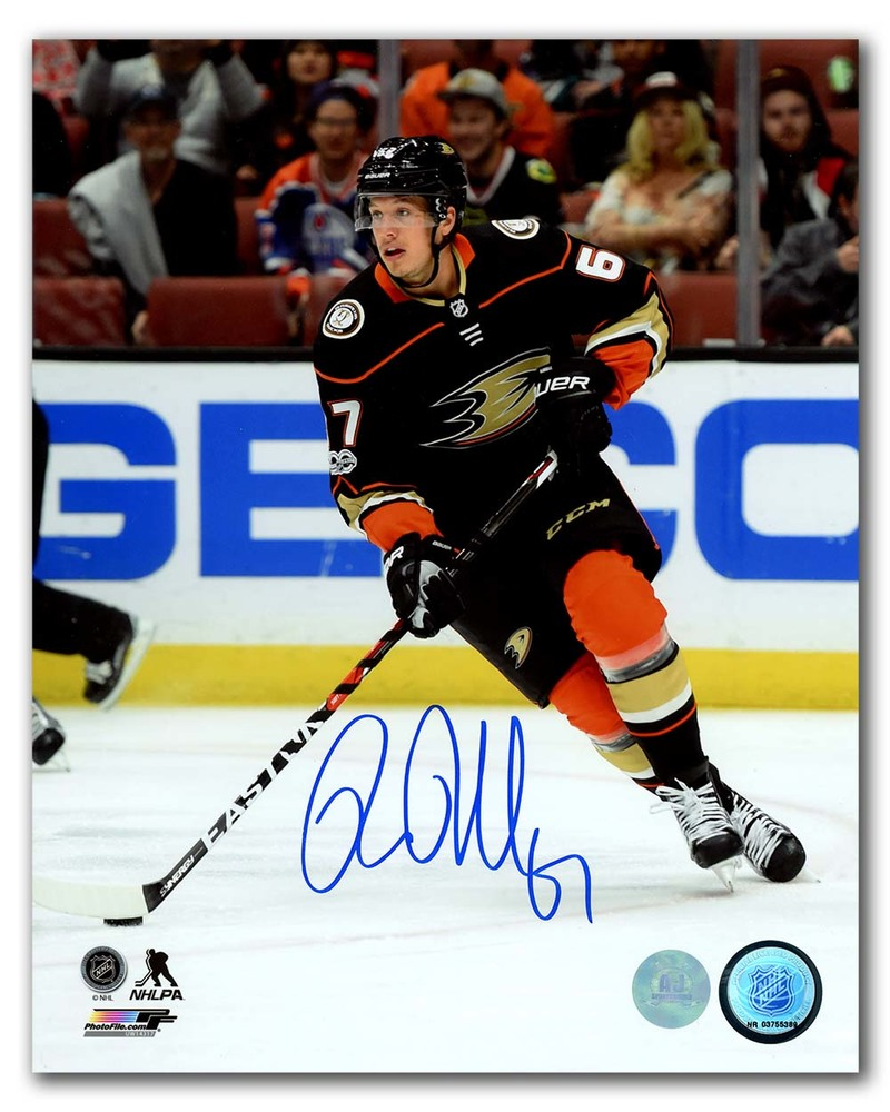 Rickard Rakell Anaheim Ducks Autographed 8x10 Photo