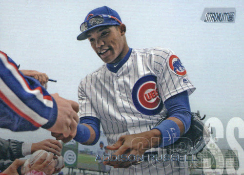 Photo of 2018 Stadium Club #286 Addison Russell