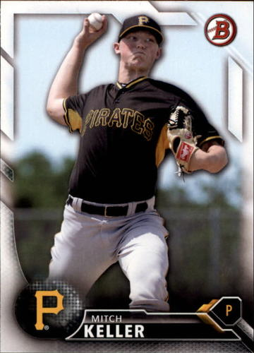 Photo of 2016 Bowman Draft #BD144 Mitch Keller