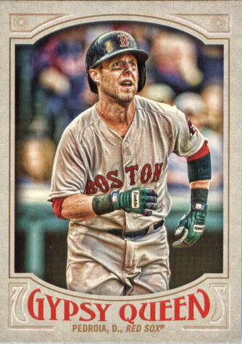 Photo of 2016 Topps Gypsy Queen #149 Dustin Pedroia