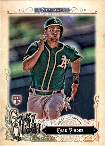 Photo of 2017 Topps Gypsy Queen #134 Chad Pinder RC