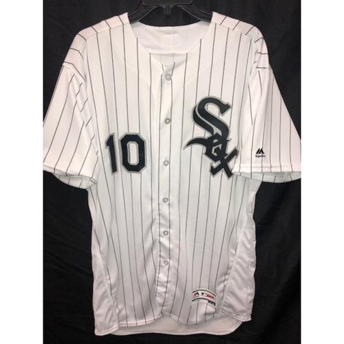 Photo of Yoan Moncada Autographed Jersey - Size 46