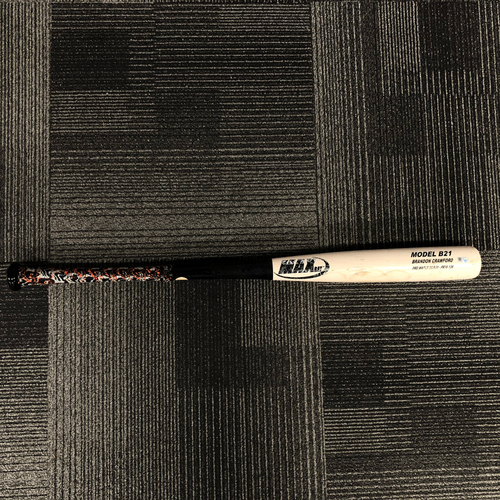Photo of 2016 Postseason Game Used Bat - NLDS Game 3 vs. Chicago Cubs - Used by #35 Brandon Crawford - Ground Out to SS