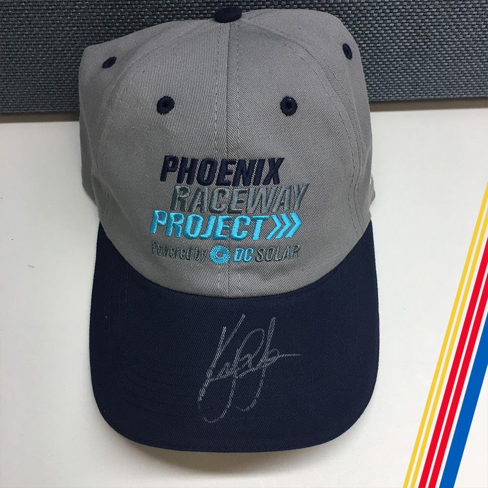 NASCAR's Kyle Larson Autographed DC Solar Hat!