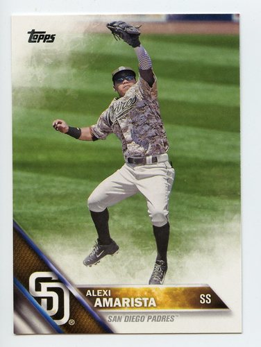 Photo of 2016 Topps #557 Alexi Amarista