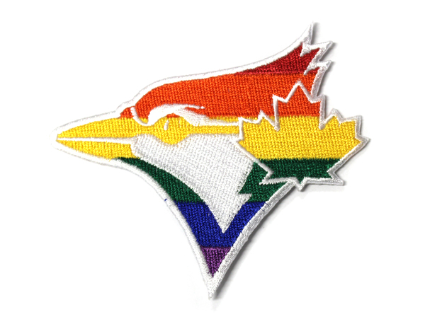 Toronto Blue Jays Pride Fan Patch by The Emblem Source