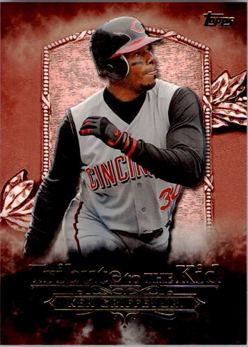 Photo of 2016 Topps Tribute to the Kid #KID27 Ken Griffey Jr.