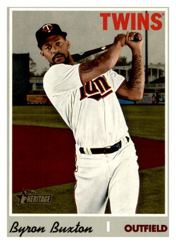Photo of 2019 Topps Heritage #539 Byron Buxton