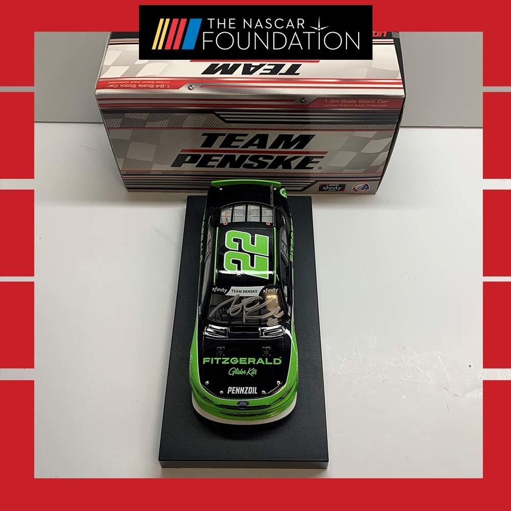 NASCAR's Austin Cindric Autographed Diecast!