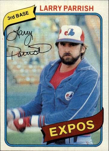 Photo of 1980 Topps #345 Larry Parrish