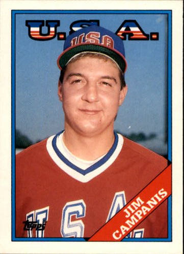 Photo of 1988 Topps Traded #23T Jim Campanis OLY XRC