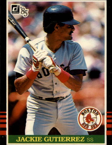 Photo of 1985 Donruss #335 Jackie Gutierrez