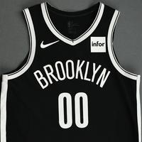 Rodions Kurucs - Brooklyn Nets - NBA China Games - Game-Worn Icon Edition Jersey - 2019-20 NBA Season