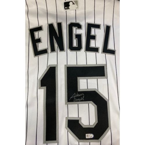 Photo of Adam Engel Autographed Jersey