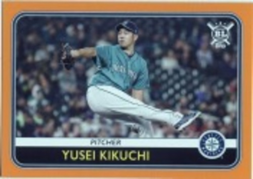 Photo of 2020 Topps Big League Orange #16 Yusei Kikuchi