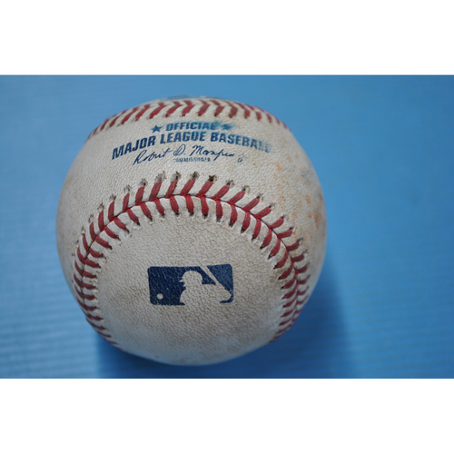 Game-Used Baseball - CHI at PIT - 9/2/2020 - Pitcher - Derek Holland, Batter - Ian Happ (CHI), Top 8, Single